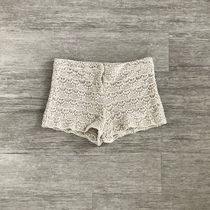 Lace Shorts from Express